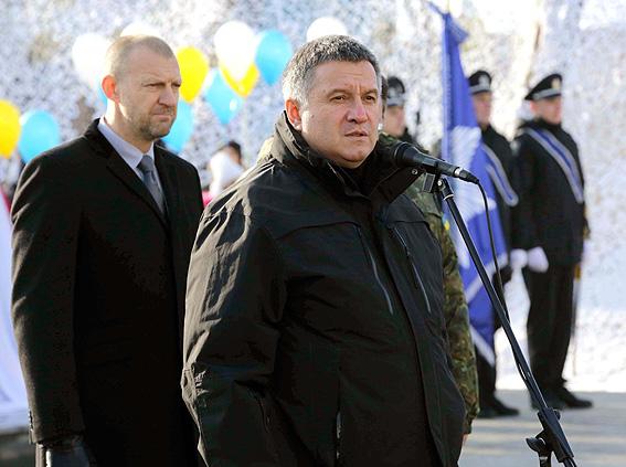 ВБоярке открыт мемориал полицейским, погибшим взоне АТО