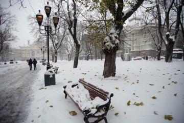 В Україні в суботу очікується сильний сніг