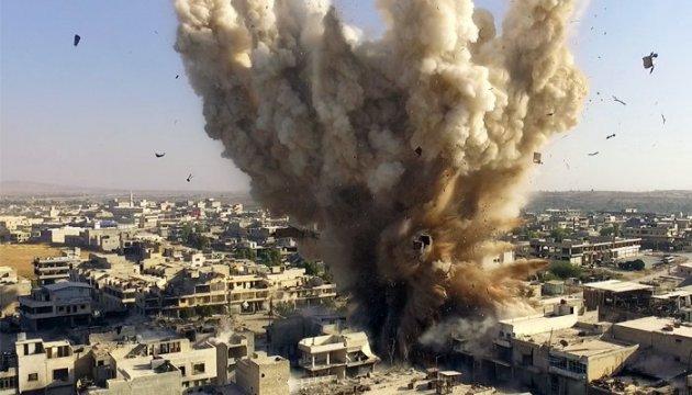 За сутки авиация убийцы Асада 140 раз била по Алеппо: 46 погибших, 230 раненых