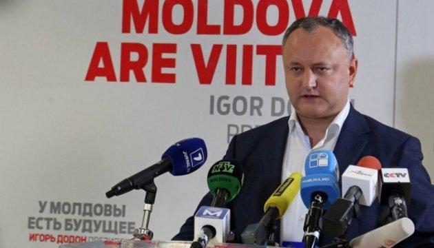 Кремлевский Додон говорит, что Молдова не откажется от ассоциации с ЕС