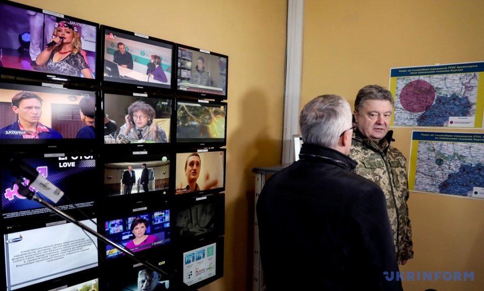 Нагоре Карачун открыли восстановленную телевышку