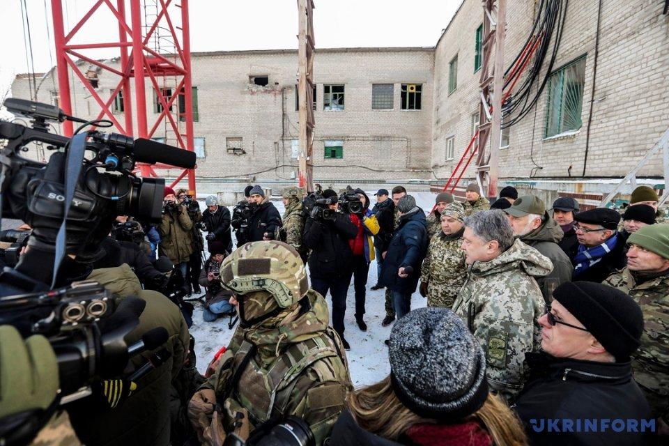 Порошенко: ВДонецкой области возобновили знак нескольких украинских каналов