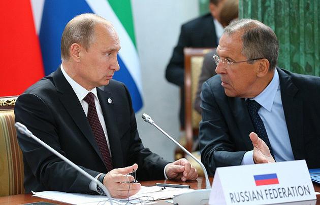 Путин, Лавров / Фото: pravdoryb.inf