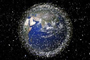 Япония взялась убрать с орбиты космический мусор