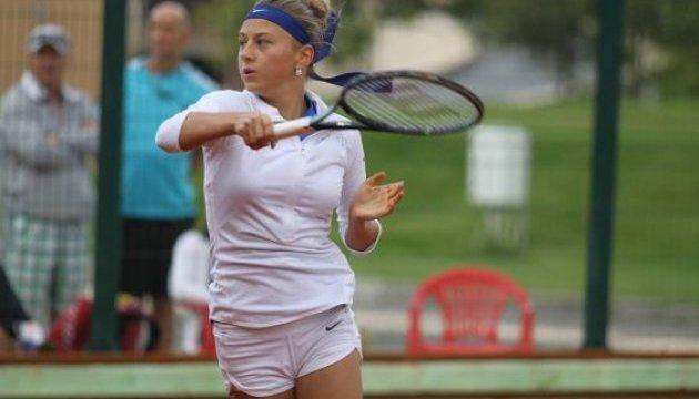 14-річна українка вийшла до 3 раунду тенісного турніру у США