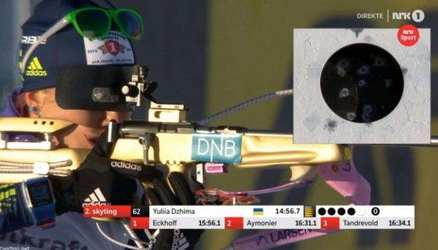 Біатлон: Коукалова виграла гонку переслідування в Естерсунді; Джима - дев'ята