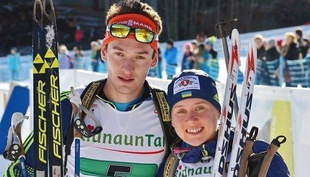Українські біатлоністи виграли змішану естафету на етапі Кубка IBU