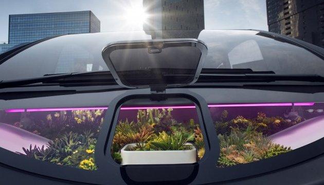 У Швейцарії створили перший в світі електромобіль із садом
