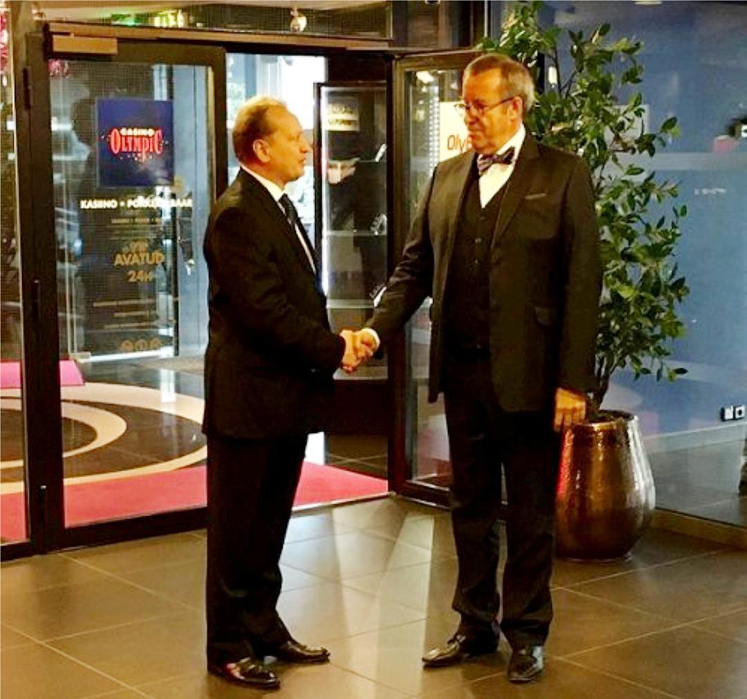 Українське прийняття в Таллінні відвідав Президент Естонії Х. Ільвес (07.09.2016)