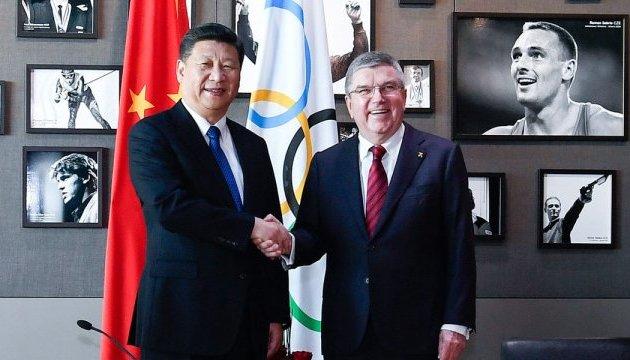 Сі Цзіньпін пообіцяв МОК провести успішну Білу Олімпіаду