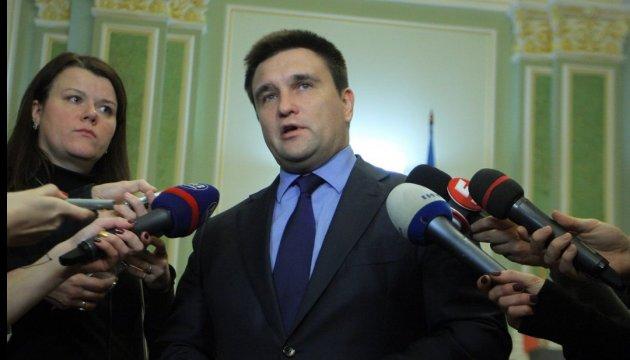 Україні не потрібні компроміси щодо виконання Мінська - Клімкін