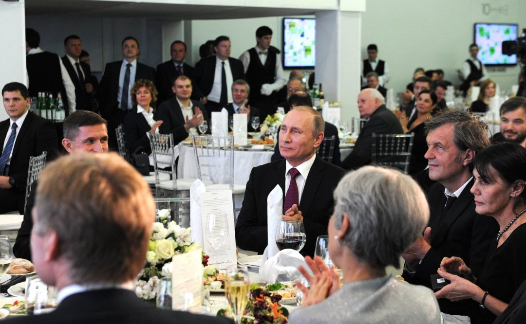 Майкл Флінн і Володимир Путін