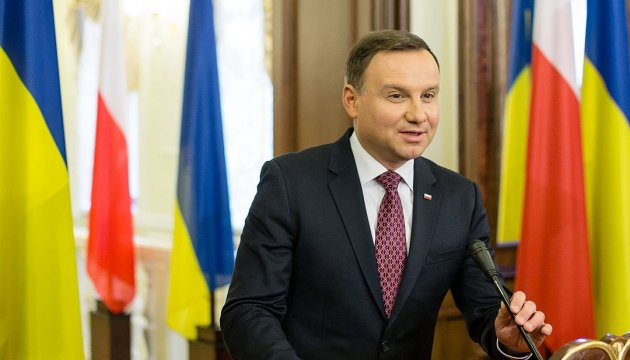 Polish President Andrzej Duda to visit Ukraine this year – Embassy of Poland