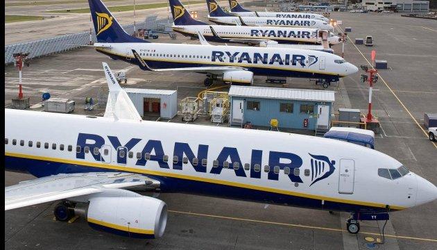 Ryanair почне літати з України до Європи раніше