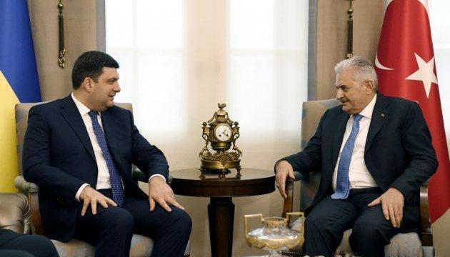 Україна і Туреччина можуть співпрацювати у космічній авіації - Гройсман