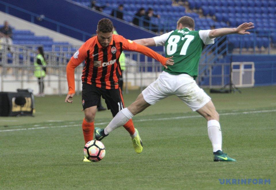 """Матч """"Шахтар"""" – """"Олександрія"""" завершився з рахунком 1:0"""