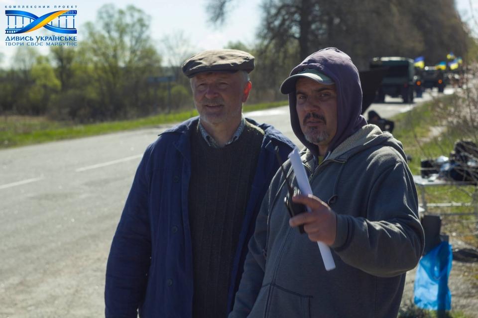 Проект «Дивись українське» розпочав зйомки перших фільмів