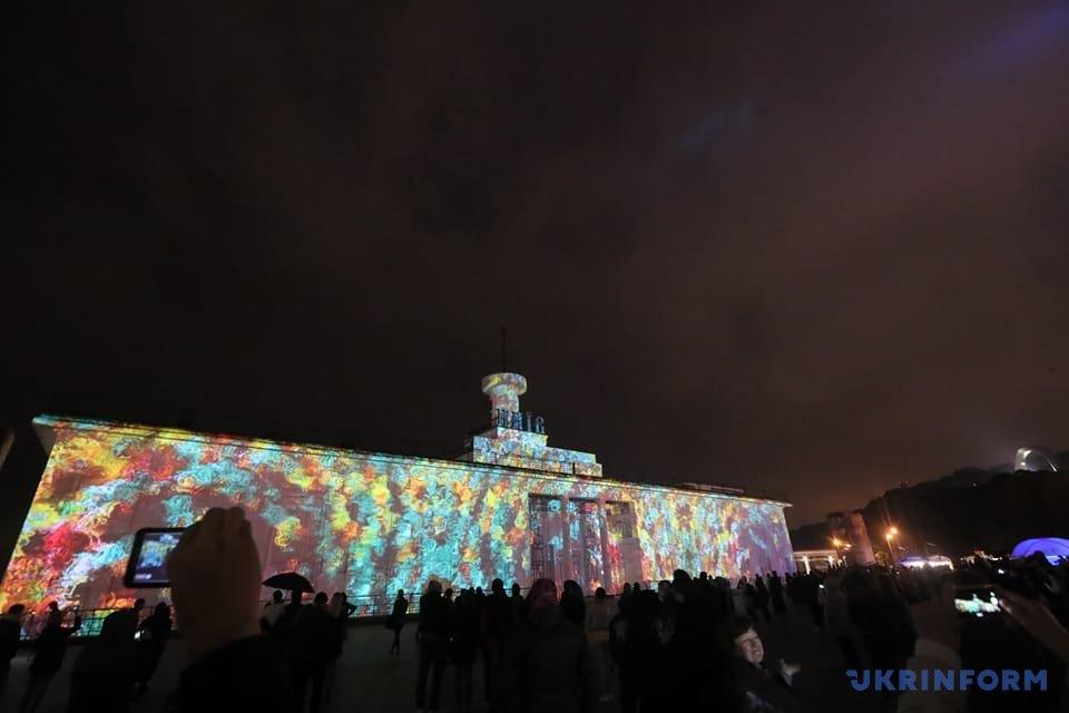 Завтра вКиєві стартує фестиваль світла