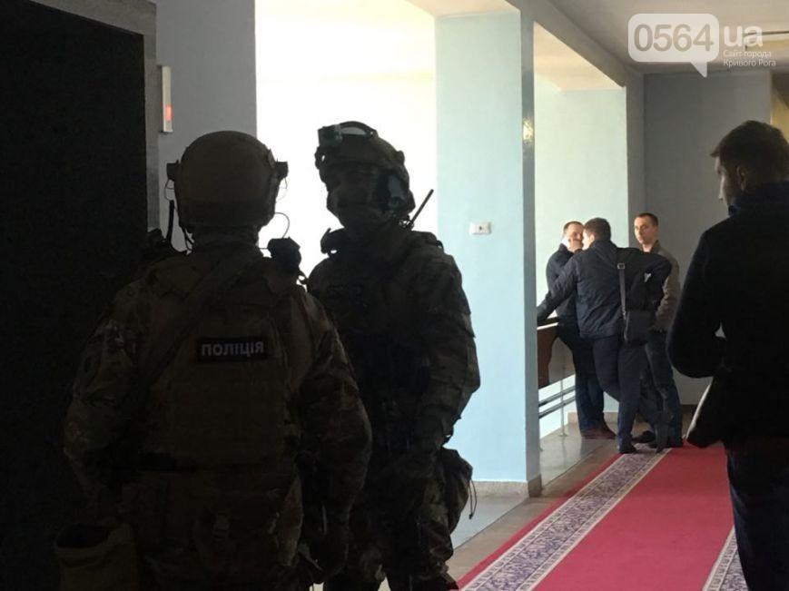 ВКривом Роге— обыски, заместителю главы города объявлено о сомнении