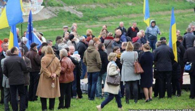 Українці в Перемишлі показали речі, які їм вдалося зберегти під час акції «Вісла»