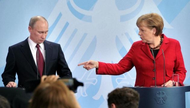 Меркель сказала Путіну, що альтернативи Мінську не бачить