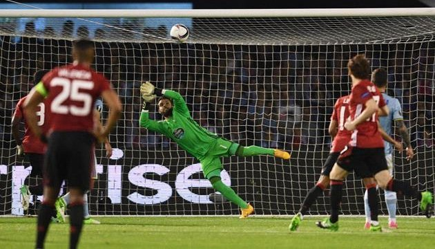 """Єдиний м'яч у поєдинку """"Сельта"""" – """"Манчестер Юнайтед"""" забив Рашфорд"""