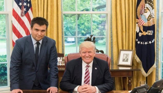 Клімкін і Трамп говорили про Крим та Донбас - Геращенко