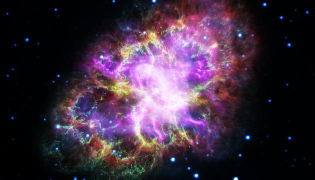 """У всій красі: NASA показало """"портфоліо"""" Крабоподібної туманності"""