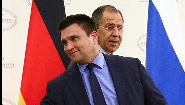 Ukrainian and Russian foreign ministers discuss exchange of hostages
