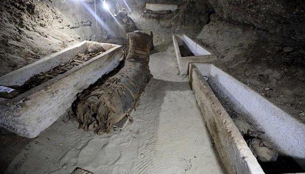 В єгипетській таємній гробниці знайшли 17 мумій