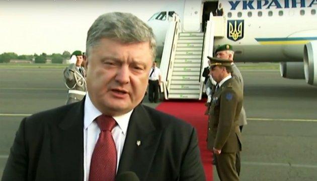 Порошенко: Саме в Одесі маю підписати указ на безвізові подорожі до ЄС