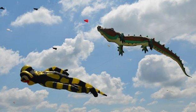 В Україні відбувся перший міжнародний фестиваль повітряних зміїв