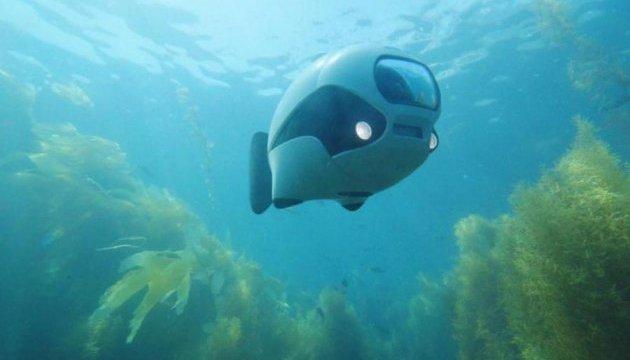 Нова роборибка може знімати на глибині до 60 метрів