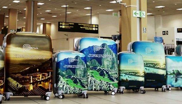 Яскраві місця Перу з'явилися на валізах