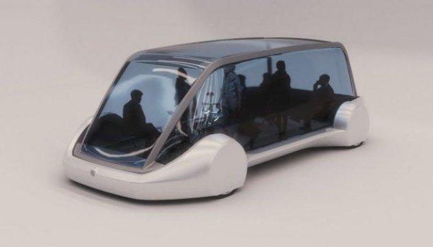 Ілон Маск показав безпілотний електробус для підземних тунелів