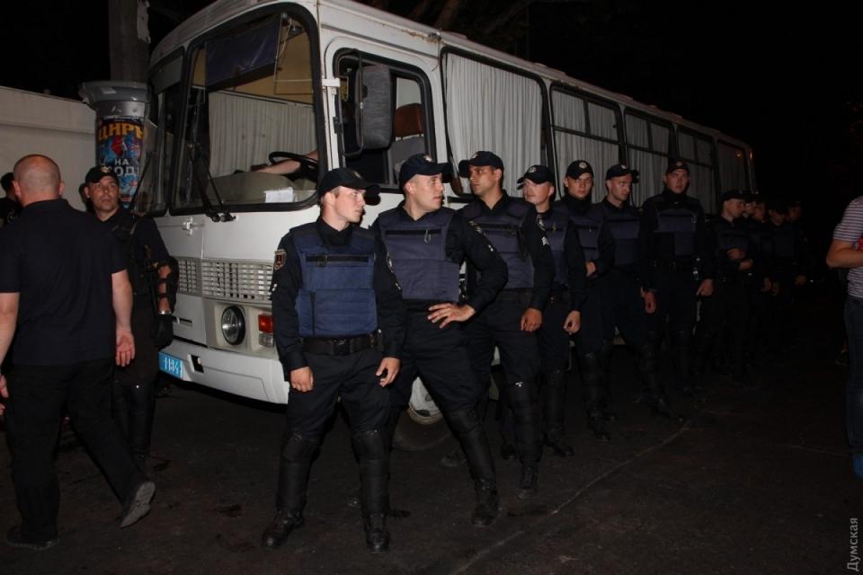Під час концерту Білик вОдесі побилися бойкотувальники і поліція