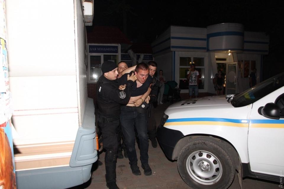 Бійка наконцерті Білик вОдесі: відкрито два кримінальні провадження