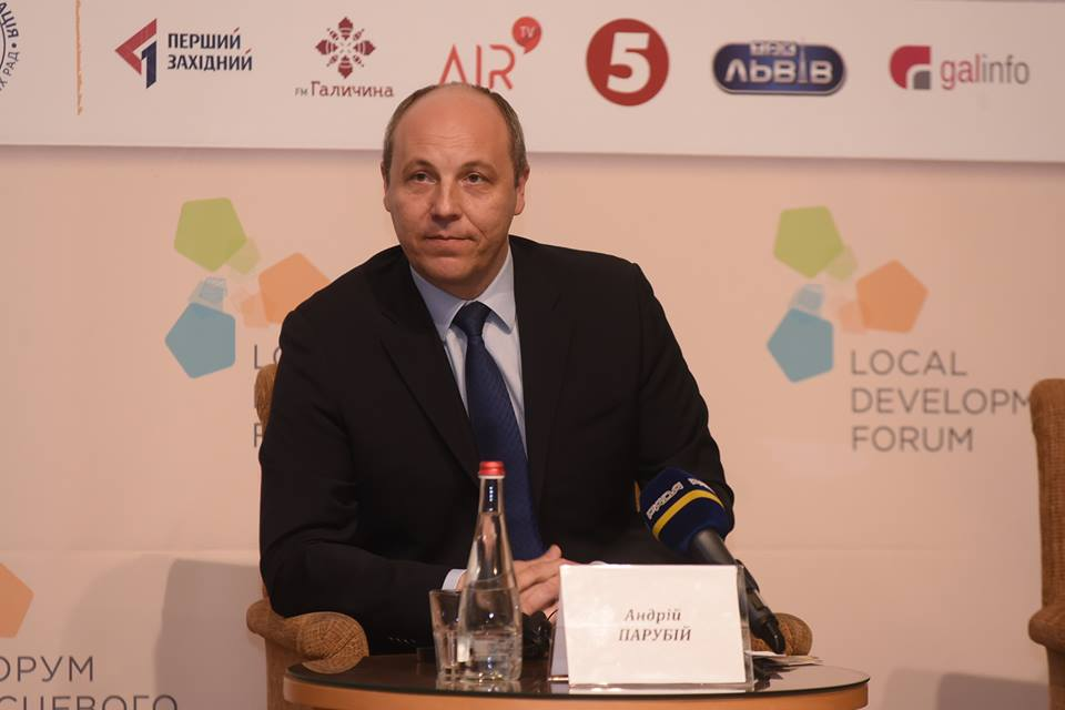 New format of military operation in Donbas should provide for carrying out democratic procedures – Parubiy