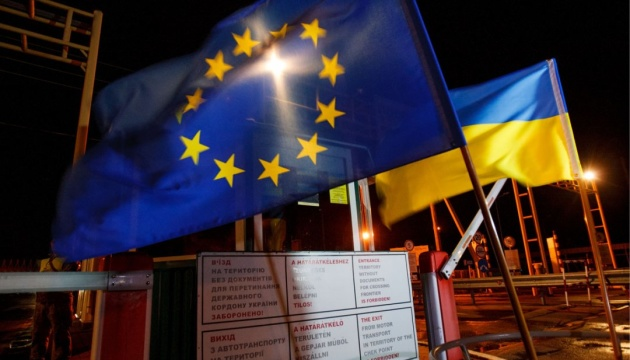 Almost 8,700 Ukrainians already cross border with EU countries without visas