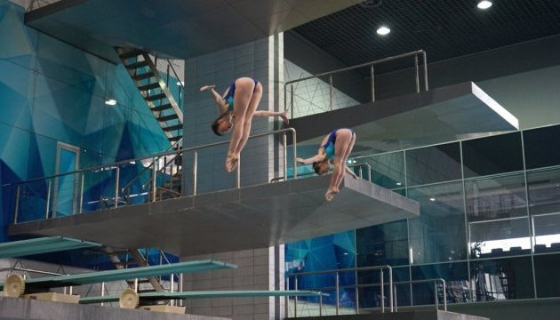 European Diving Championships starts in Kyiv. Video