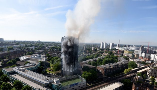 No Ukrainians among dead in London fire - embassy