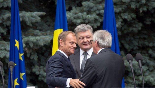 Poroshenko, Tusk congratulate political prisoner Sentsov on his birthday