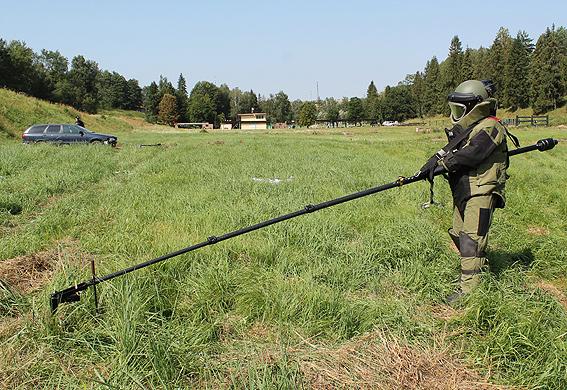 Украинские полицейские провели общие  учения сагентами ФБР