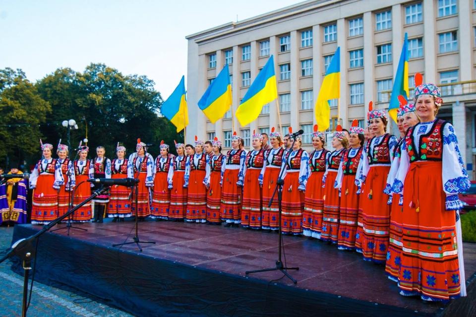 ВУжгороде начали праздновать День Независимости в6:00
