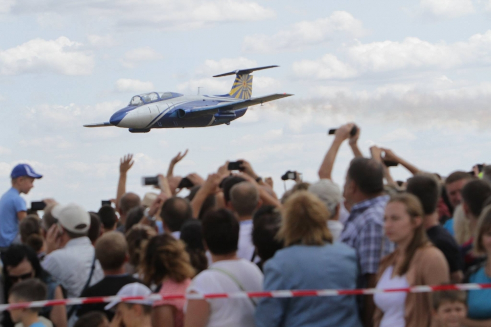 Авиашоу «Свободное небо» наДнепропетровщине собрало около 20 тыс. наблюдателей