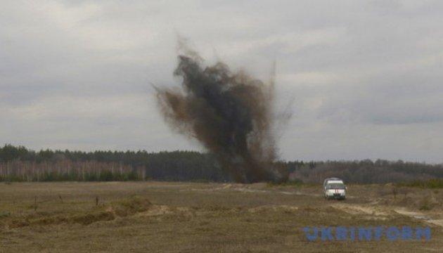 Ukrainian servicemen blown up on explosive device in ATO area in Donbas