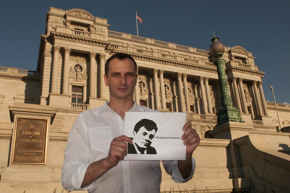 Международная иЕвропейская федерации корреспондентов призывают РФ немедленно освободить украинского репортера Сущенко