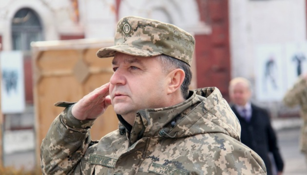 Defense Ministry plans to buy new equipment of not only Ukrainian production next year – Poltorak