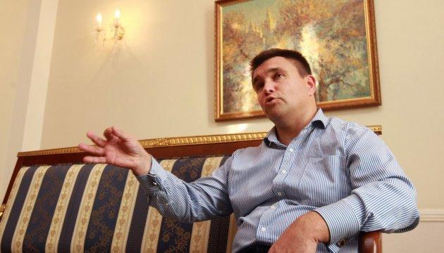 Klimkin, Szijjártó had frank conversation regarding educational law