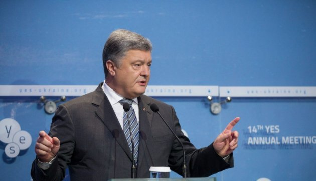 President proposes to create international circle of friends of Crimea de-occupation